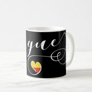 Heart Prague Mug, Czech Republic Coffee Mug