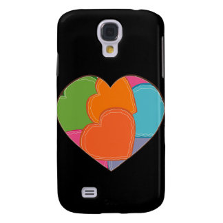 Heart Puzzle Galaxy S4 Cover