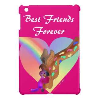 Heart Rainbow & Lila by The Happy Juul Company iPad Mini Covers