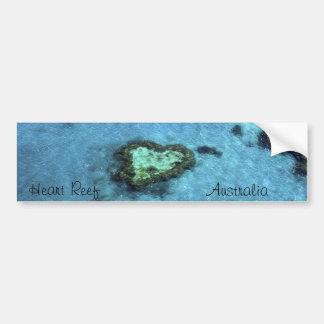 Heart Reef - Australia Bumper Sticker