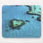 Heart Reef - Australia Mouse Pad