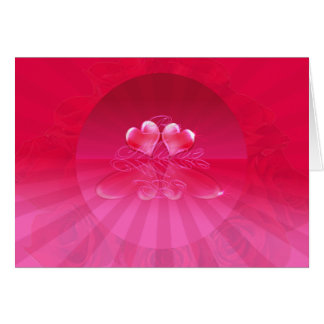 HEART REFLECTIONS & LIGHT RAYS by SHARON SHARPE Greeting Card