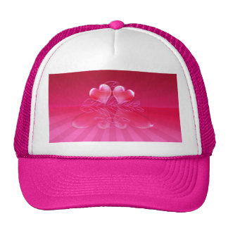 HEART REFLECTIONS & LIGHT RAYS by SHARON SHARPE Hats