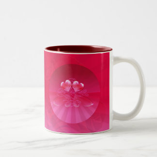 HEART REFLECTIONS & LIGHT RAYS by SHARON SHARPE Coffee Mug