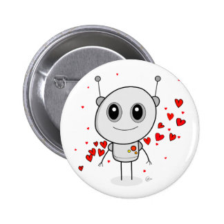 Heart Robot - Button