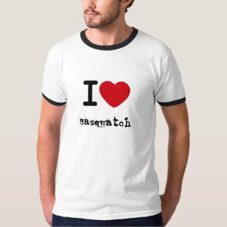 heart, Sasquatch T-Shirt