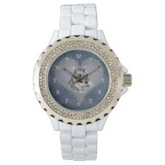 Heart Schnauzer Wrist Watch