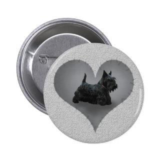 Heart Scottie Button