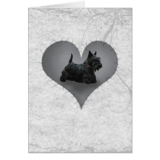 Heart Scottie Card