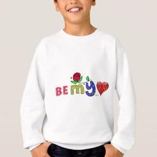 Heart sees my sweatshirt