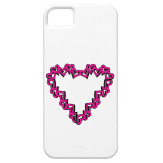 Heart Shape iPhone 5/5S Case