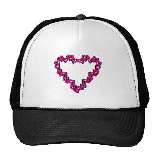 Heart Shape Trucker Hat