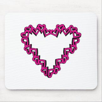 Heart Shape Mousepad