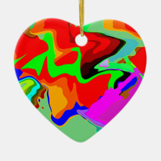 Heart shape ornament for Christmas decoration