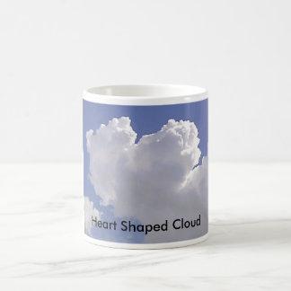 , Heart Shaped Cloud Coffee Mug