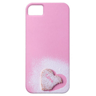 heart shaped cookie barely there iPhone 5 case