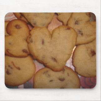 Heart Shaped Cookies Mouse Pad