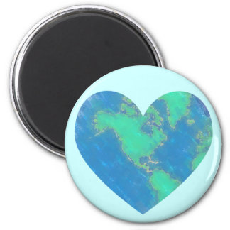 Heart-Shaped Earth Magnets