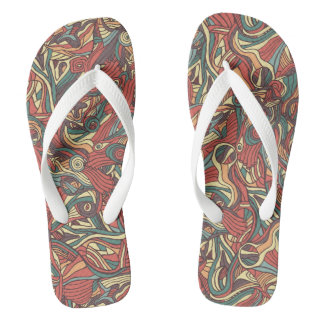 heart shaped feathers symbol design thongs