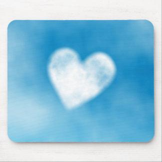 heart shaped fluffy cloud