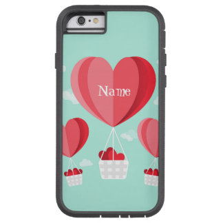 Heart shaped hot air balloons tough xtreme iPhone 6 case