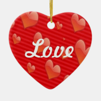 Heart-Shaped Love Ornament