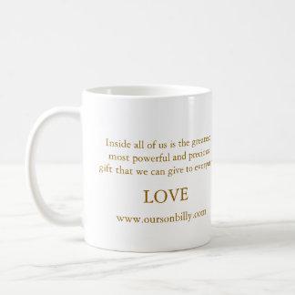heart shaped moon coffee mug
