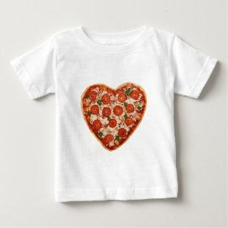 heart shaped pizza baby T-Shirt