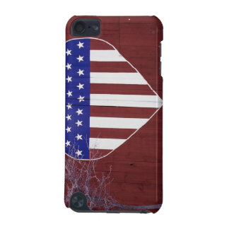 Heart-Shaped Stars and Stripes iPod Touch 5G Case