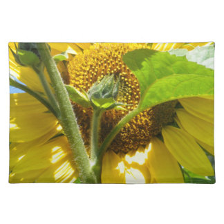 Heart Shaped Sunflower Placemat