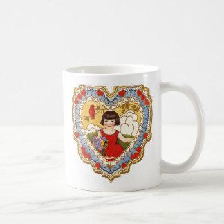 Heart Shaped Valentine Mugs