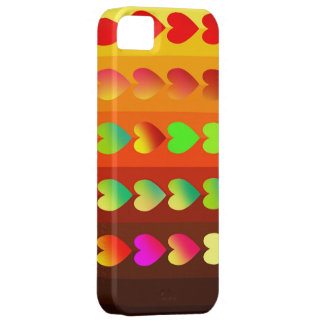 Heart shapes cellphone case iPhone 5 case