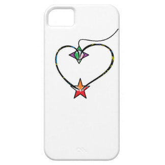 Heart shapes iPhone 5 cover