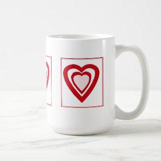 Heart Shapes Mug