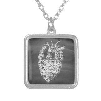 Heart Silver Plated Necklace