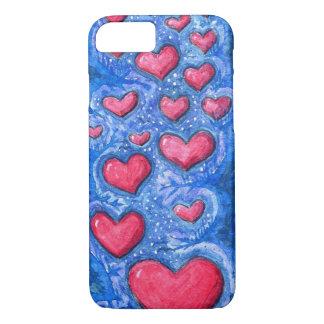 heart sky phone case