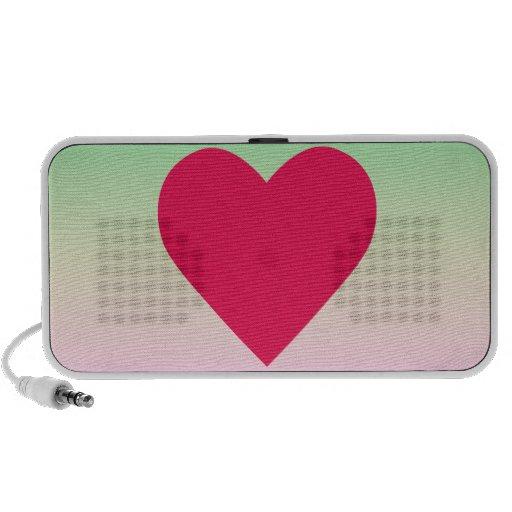 heart notebook speakers