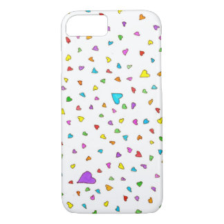 Heart Sprinkles- iPhone 7 case
