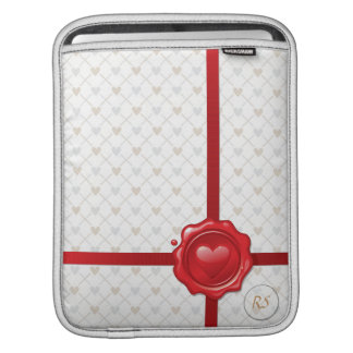 Heart Stamp 1 iPad Sleeve