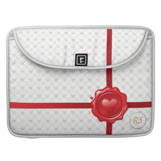 Heart Stamp 1 Mac Book Sleeve Sleeves For MacBooks