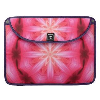 Heart Star Mandala Sleeve For MacBook Pro