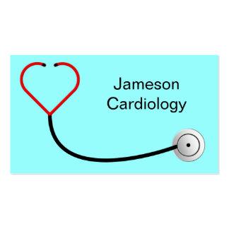 Heart Stethoscope Business Card