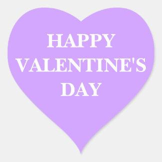 Heart Sticker Happy Valentine s Day
