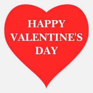 Heart Sticker (Happy Valentine's Day)