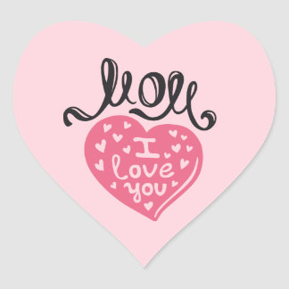 Heart Stickers - Best mom ever with love