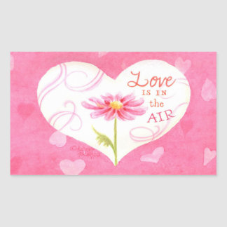 Heart Stickers Love is In The Air