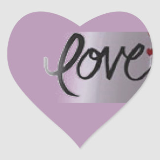 Heart Stickers Show your love