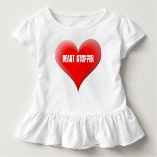 HEART STOPPER Toddler Cute Big Red Heart T Shirt