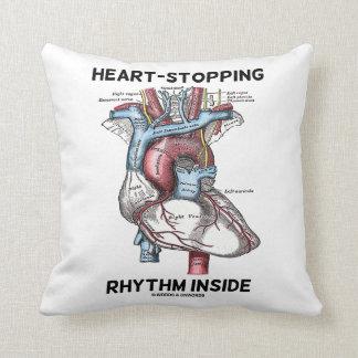 Heart-Stopping Rhythm Inside Anatomical Heart Cushion