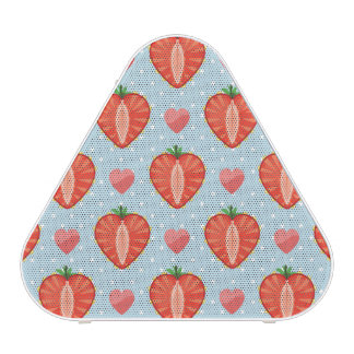 Heart Strawberries with Polka Dots And Hearts